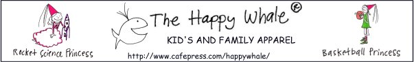 [Banner ad, Happy Whale Apparel, Cafe Press]
